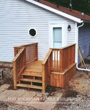 Mid Michigan Family Builders Small Deck 08 07 2018 01