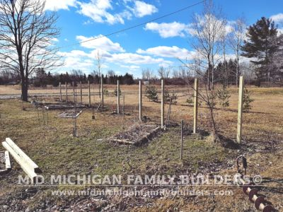 Mid Michigan Family Builders Wooden Fence Project 03 2020 01 02