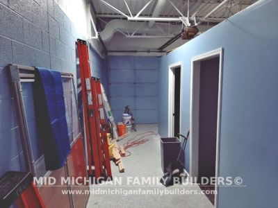 Mid Michigan Famliy Builders Blue Water Pet Care Progress Shots 01 2020 19
