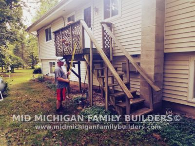 Mid Michigan Famnily Builders Deck Project 11 2018 02