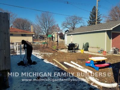Mid Michigan Family Builders Wooden Fence Project 04 2019 01 01