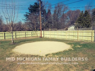 Mid Michigan Family Builders Wooden Fence Project 04 2019 02 07
