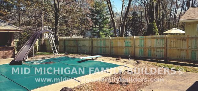 Mid Michigan Family Builders Wooden Fence Project 05 2019 02 04