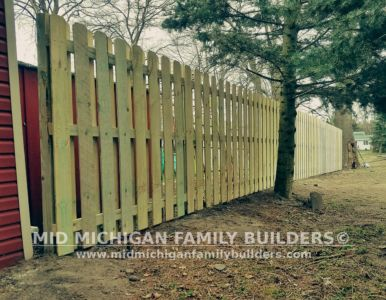 Mid Michigan Family Builders Wooden And Metal Fence Project 04 2019 01 03