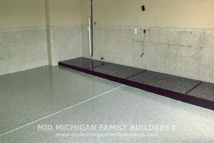 Mid Michigan Family Builders Custom Construction Project Flooring