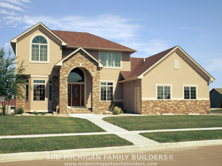 Mid Michigan Family Builders Custom Construction Project Painting