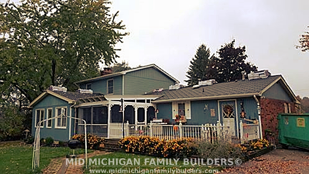 Mid Michigan Family Builders Custom Construction Project Roofing