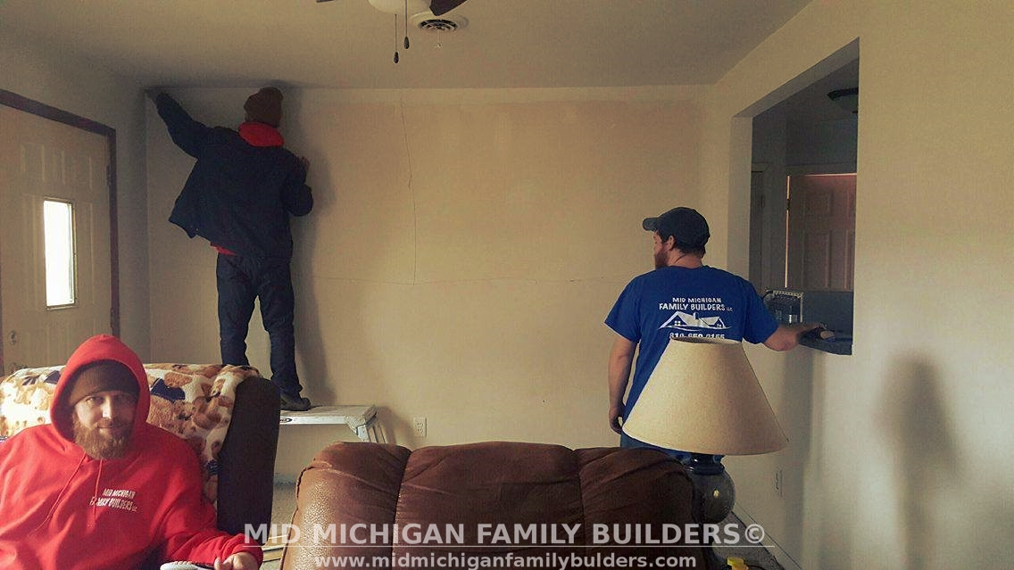 Mid Michigan Family Builders Custom Construction Project Home Remodel