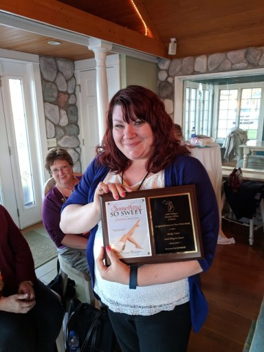 Meika Usher received recognition for her first book!