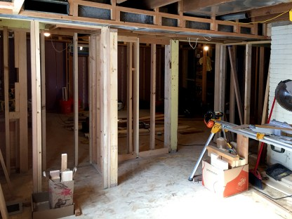 basement bedroom soffit 3