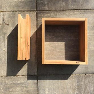 simple wood window frames