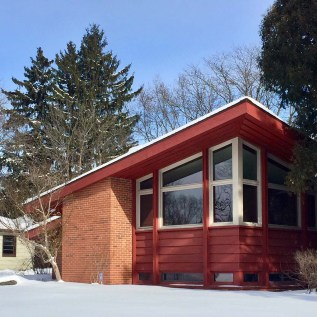 cherokee red house with glorious shed roof by herb fritz