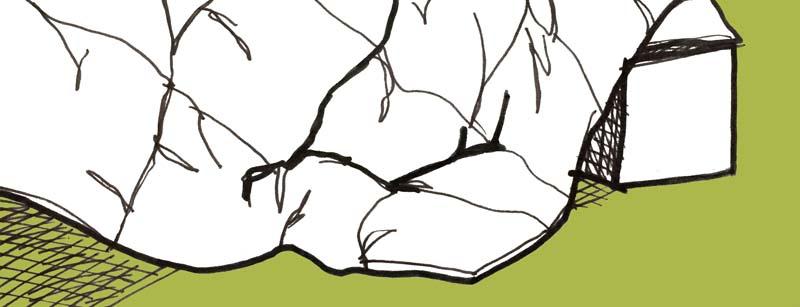 sketch of a warm blanket