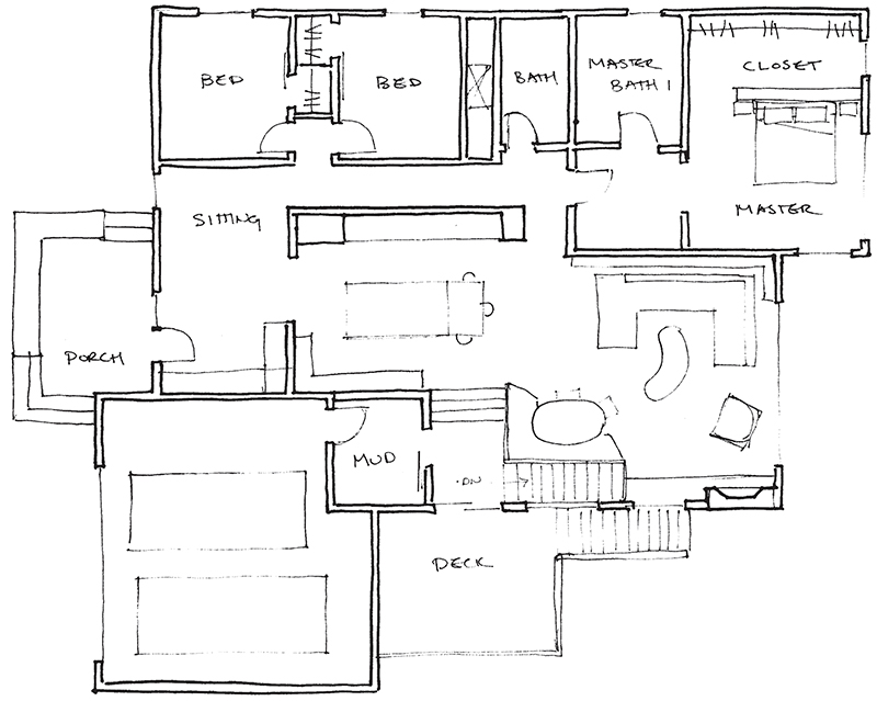 Case Study How Fix Bad Ranch Floor Plan Midmod Midwest