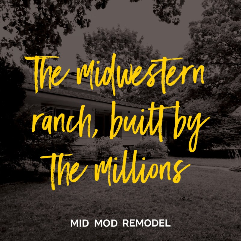 The midwestern ranch, built by the millions