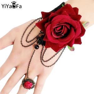 YiYaoFa-Handmade-Vintage-Black-Lace-Bracelet-for-Women-Accessories-Gothic-Wrist-Jewelry-Lady-Party-Jewelry-Bracelet