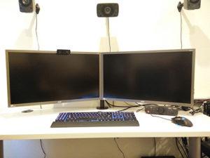 Acer 28 4k Dual Setup