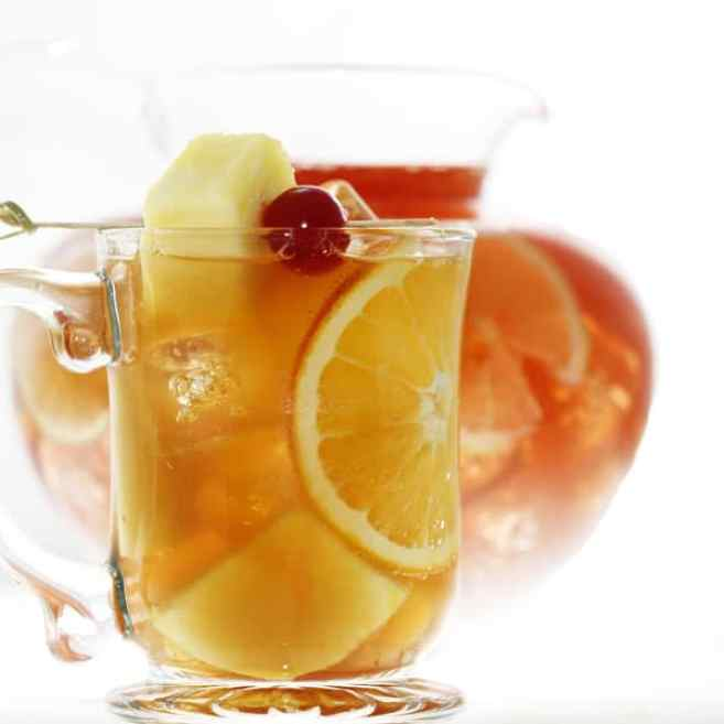 Brandy Punch great for fall weddings