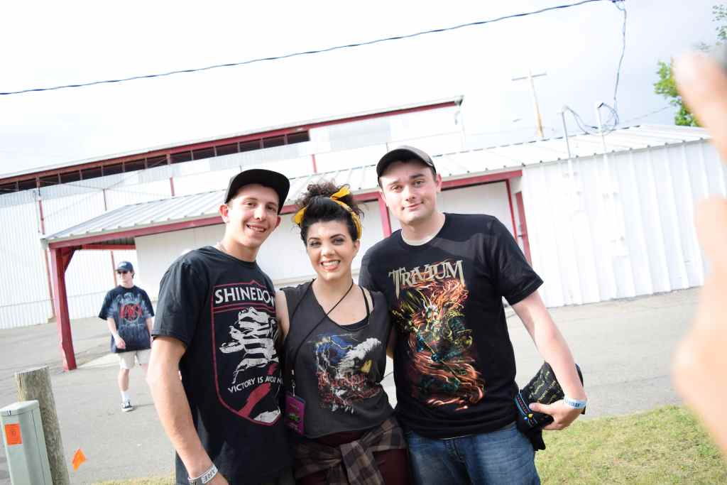 Rock N Derby 2016 Blackey Fan Photos Shinedown Trivium