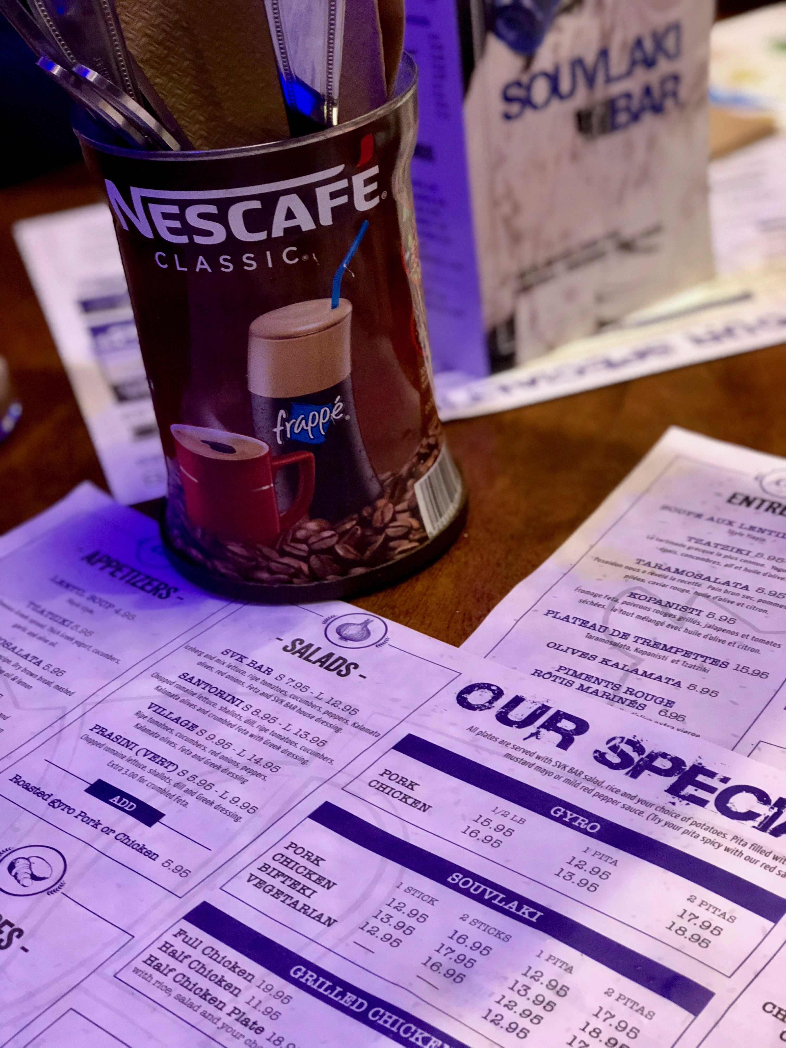 Kid Friendly Restaurants in Montreal: Souvlaki Bar