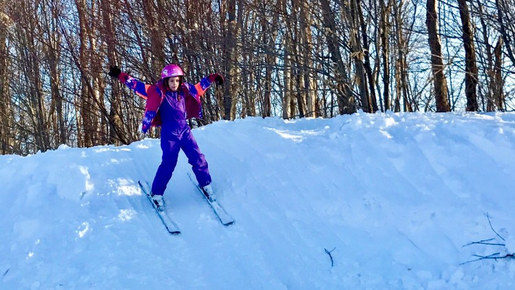 Snow Pass: Free Skiing in Grade 4 and 5