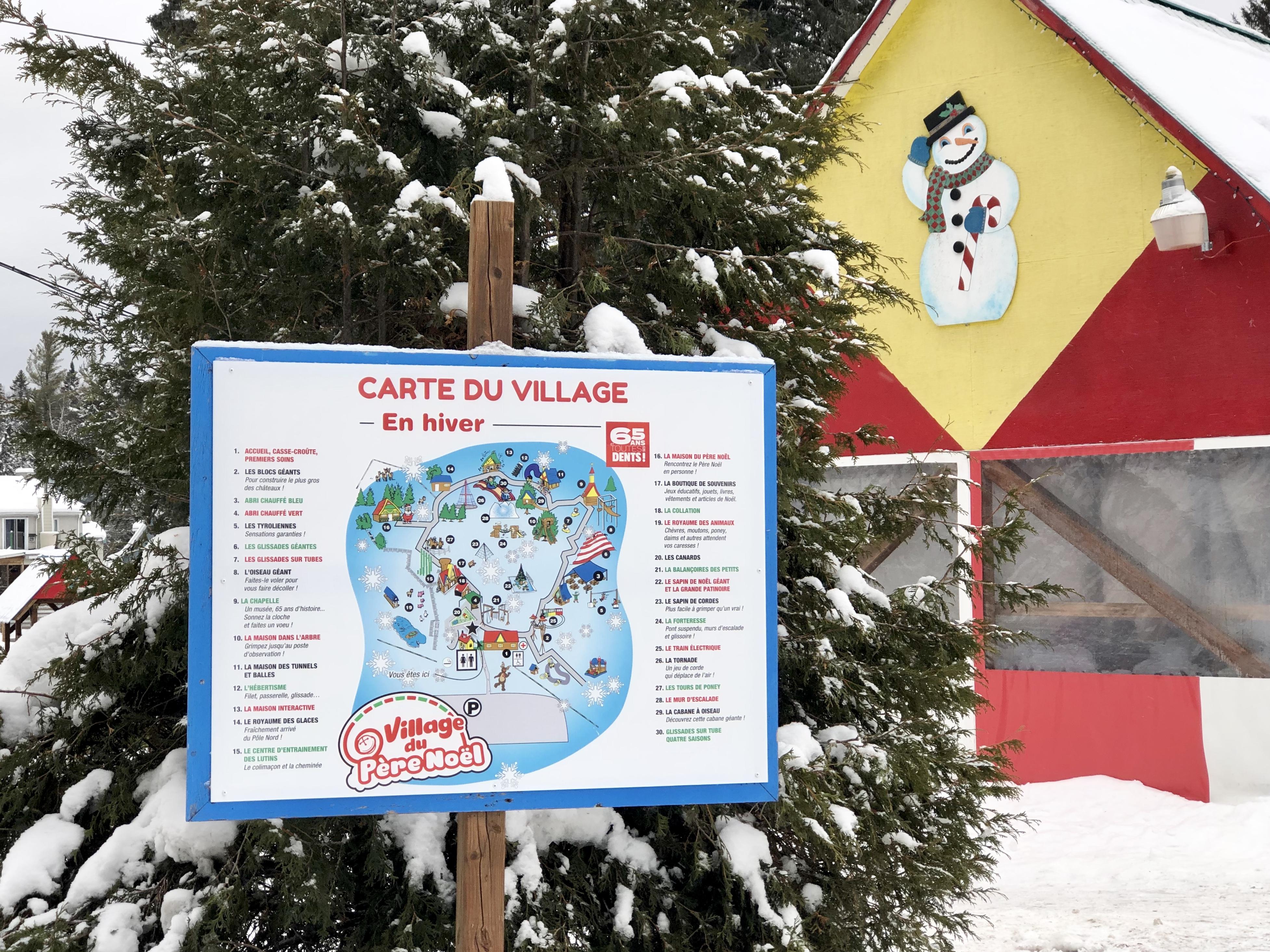 Winter Wonderland: Village du Père Noël