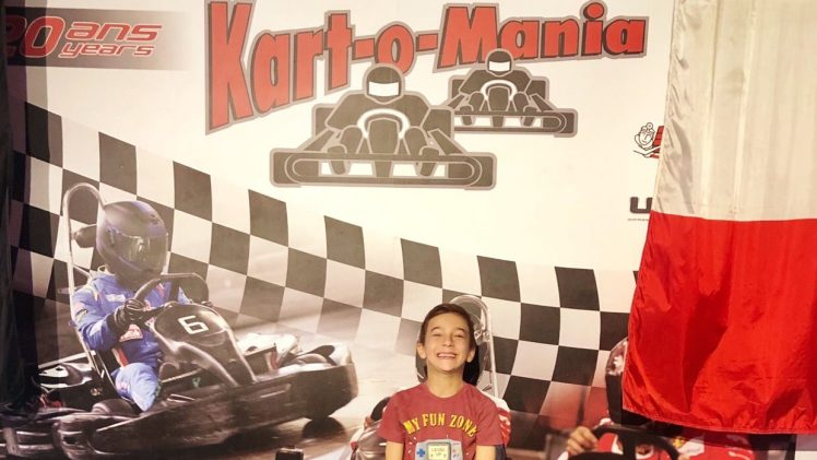 Go Karting Birthday Party at Kart-o-Mania
