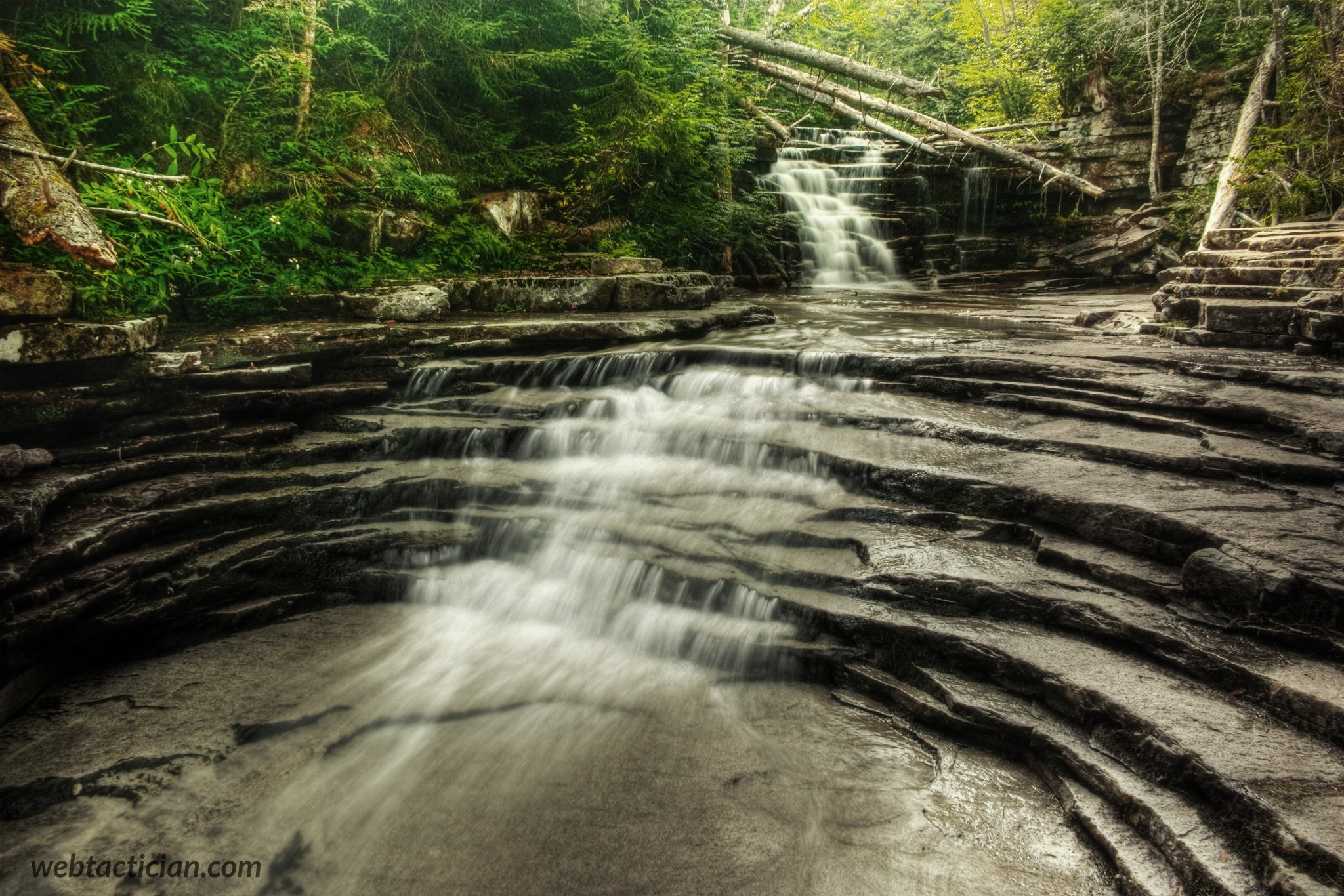 Coliseum Falls – Harts Location , Carroll County, NH , USA.