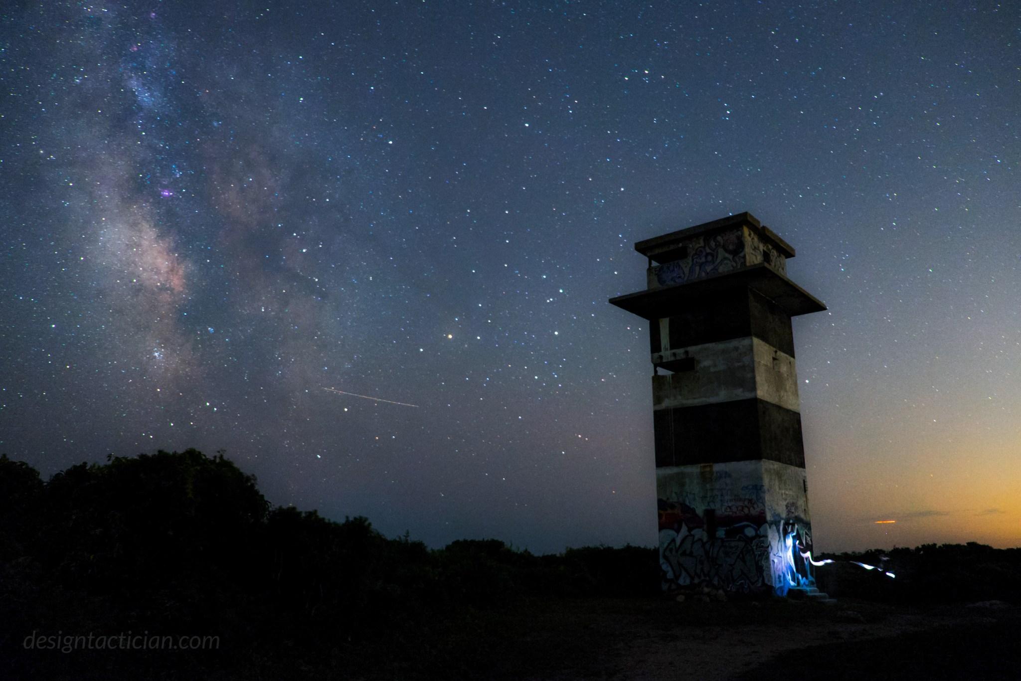 Ghost of Gooseberry Tower, Westport, Massachusetts