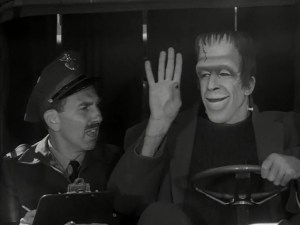 the-munsters-hermans-driving-test