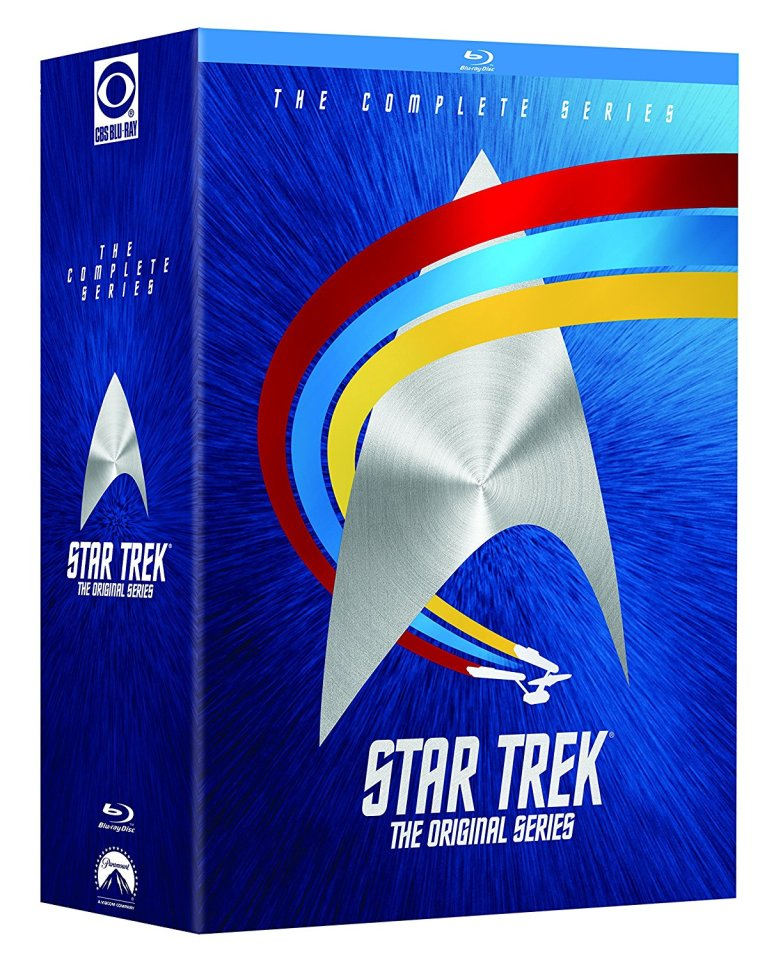 Star Trek The Original Series The Complete Original Series Blu-Ray