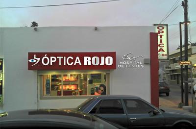 optica rojo