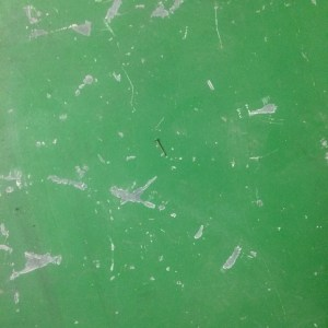 Panel of scratched green paint midorigreen.co.uk