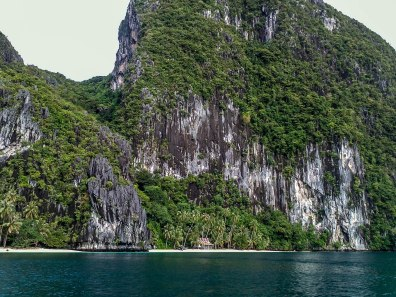 Another shot of the limestone cliffs and emerald water