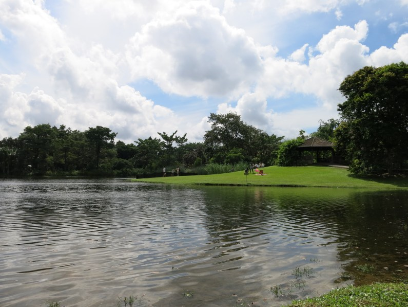 an uninterrupted view of the serene Eco-lake