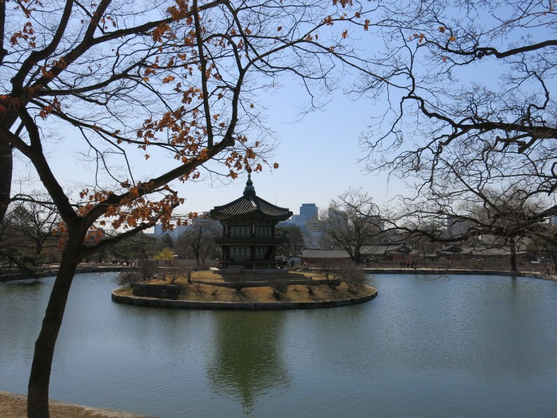 the scenic Hyangwonjeong Pavilion