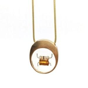 Midorj RB27 - pendente in bronzo creato da Camilla Andreani per Midorj