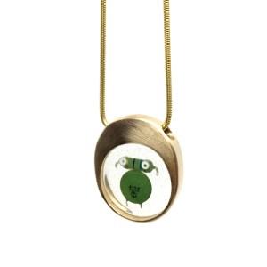 Midorj RB26 - pendente in bronzo creato da Camilla Andreani per Midorj