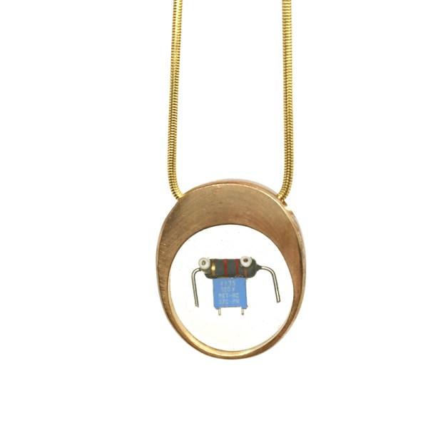Midorj RB15 - pendente in bronzo creato da Camilla Andreani per Midorj