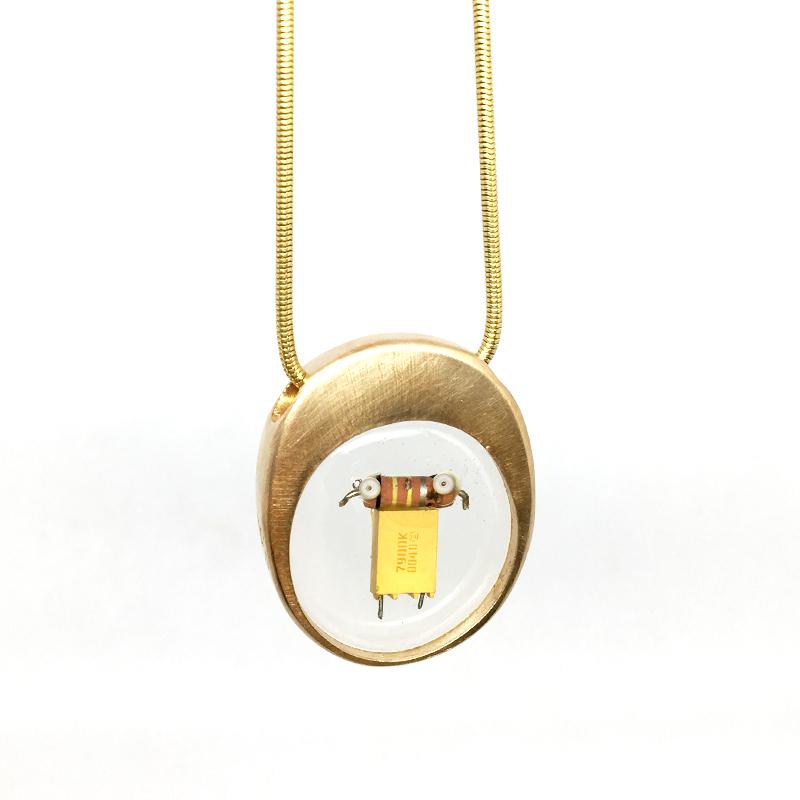 Midorj RB10 - pendente in bronzo creato da Camilla Andreani per Midorj