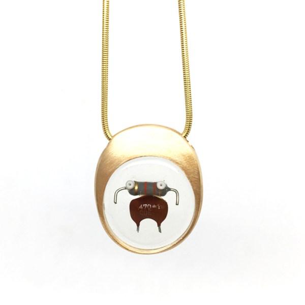 Midorj RB9 - pendente in bronzo creato da Camilla Andreani per Midorj