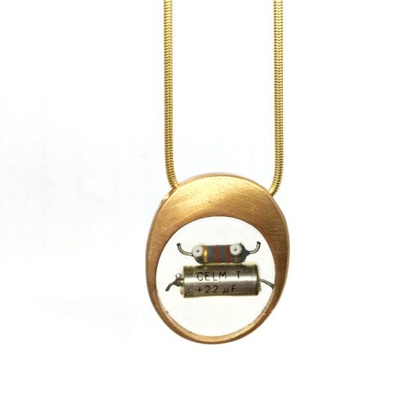 Midorj RB7 - pendente in bronzo creato da Camilla Andreani per Midorj