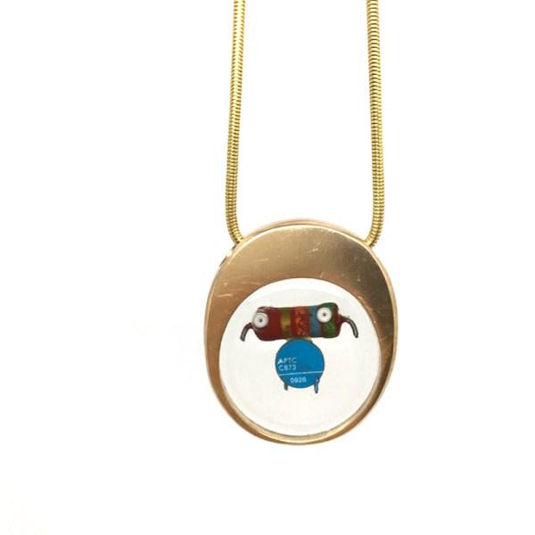 Midorj RB20 - pendente in bronzo creato da Camilla Andreani per Midorj