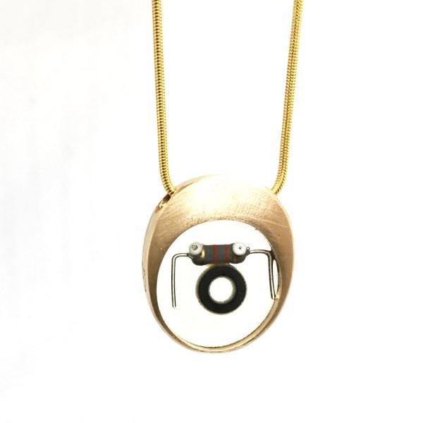 Midorj RB35 - pendente in bronzo creato da Camilla Andreani per Midorj
