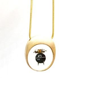 Midorj RB36 - pendente in bronzo creato da Camilla Andreani per Midorj