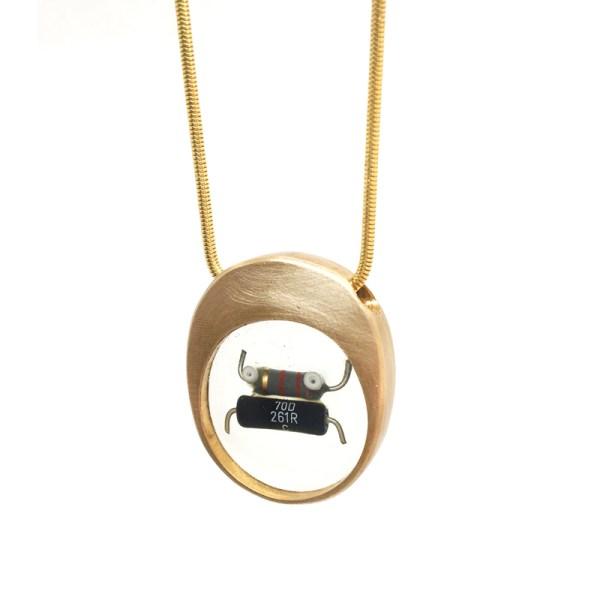 Midorj RB41 - pendente in bronzo creato da Camilla Andreani per Midorj
