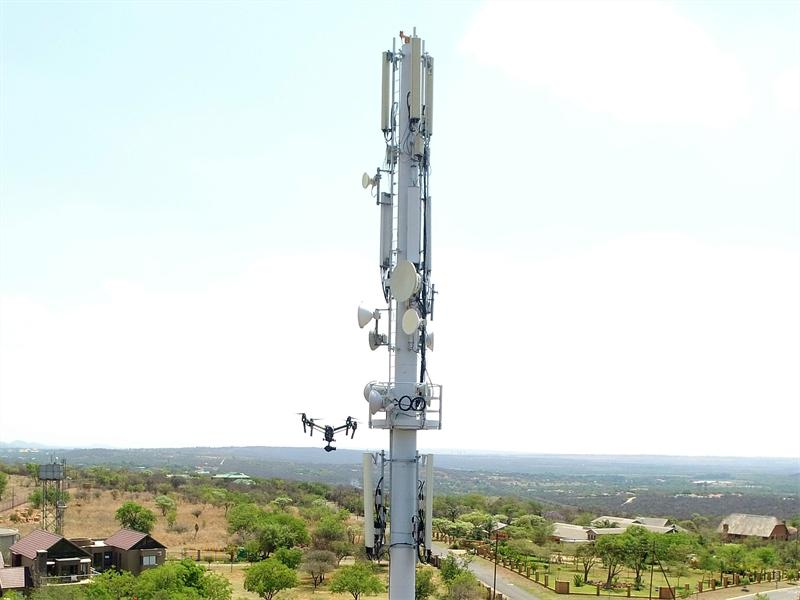 Vodacom awarded for Drone Site Survey Project. Photo supplied.