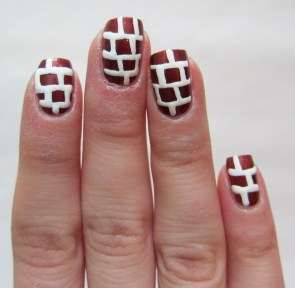 Mortar Brick Nail art