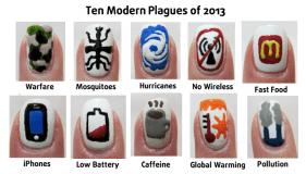 Ten Modern Plagues - MidrashManicures.com