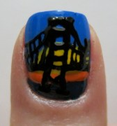 Bridge nail art